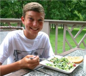 BLT salad recipe dressing salad for kids