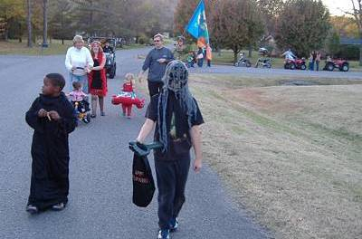 Build Community with a Halloween Parade