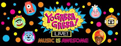 Yo Gabba Gabba! Live! Music is Awesome! Tickets Giveaway