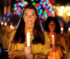 Walt Disney World during the holidays epcot disney christmas