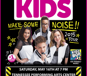 Kidz Bop Kids' MAKE SOME NOISE Tour Ticket Giveaway!