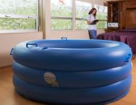 inflatable portable water birth pool home birth