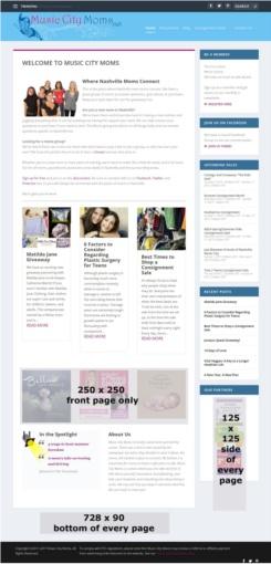 affordable advertising options nashville mom blog