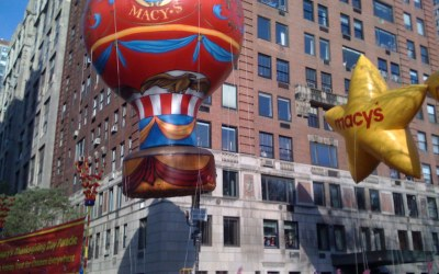Macy's Thanksgiving Day Parade Bingo Fun 2018