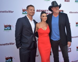 Bennett's War movie screening and red carpet with Trace Adkins