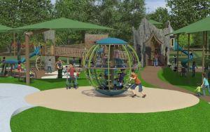 inclusive playground Nashville Zoo