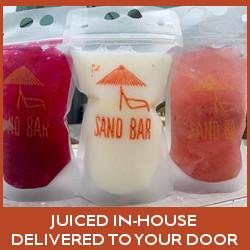 SandBar Nashville Juice Delivered