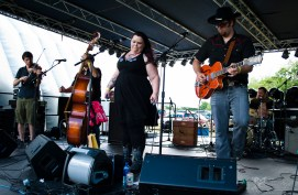Cherry Lee and the Hotrod Hounds - 2016 Miami Valley Music Fest-0347