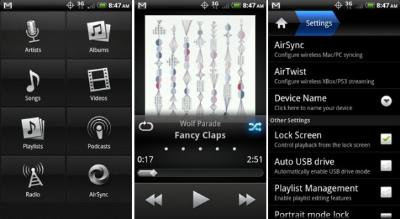 Double Twist android music player apps template