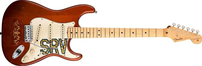 stevie ray vaughan guitar