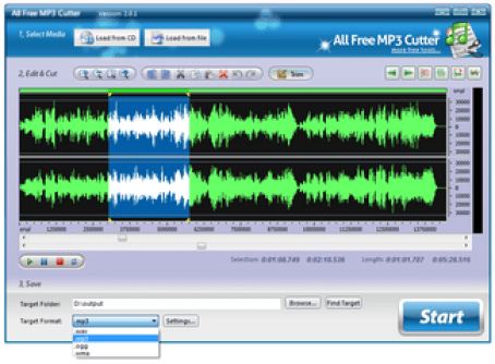 Mp3 cutter, best sound editing apps