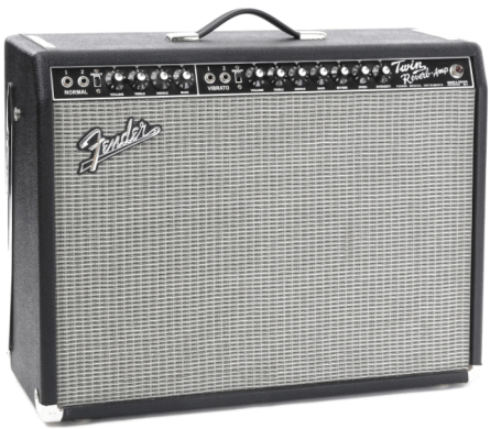 Fender Twin Reverb - best guitar amplifiers