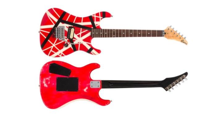 Kramer Frankenstrat, Eddie Van Halen
