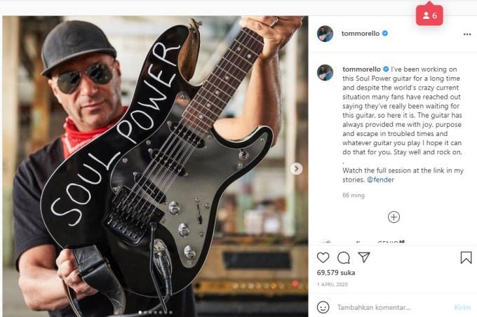 Tom Morello Signature Guitar