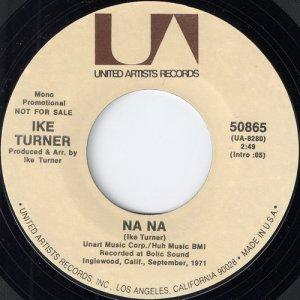 """Ike Turner - Na Na, UA Records 7"""""""