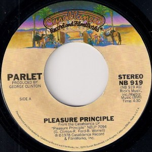 Parlet - Pleasure Principle, Casablanca 7""
