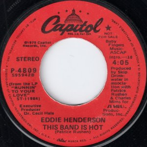Eddie Henderson - This Band Is Hot, Capitol 45