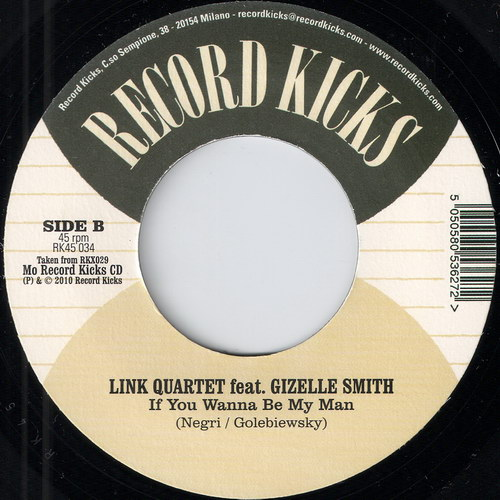 Gizelle Smith - Waiting For Reforms, wrong label, Record Kicks 45