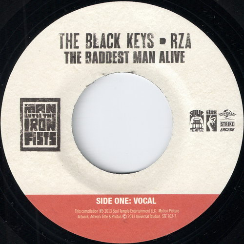 The Black Keys & RZA - The Baddest Man Alive Vocal, Soul Temple 45