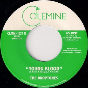 The Droptones - Young Blood, Colemine 45