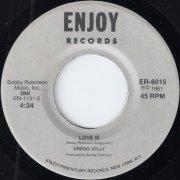 Gregg Jolly - Love Is, Enjoy 45