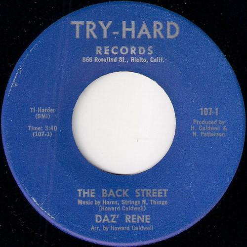 Daz' Rene - The Back Street, Try-Hard 45