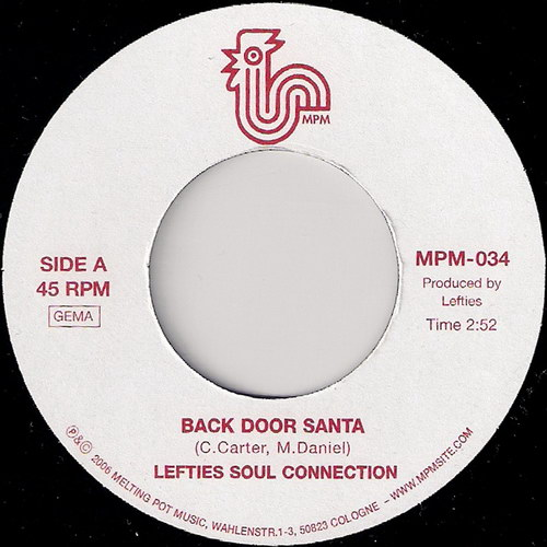 Lefties Soul Connection - Back Door Santa, Melting Pot 45