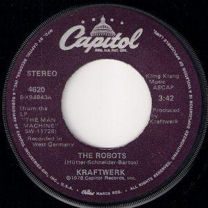Kraftwerk - The Robots, Capitol 45