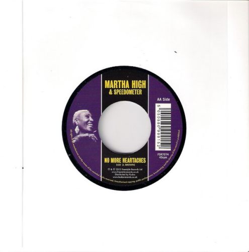 Martha High & Speedometer - No More Heartaches, Freestyle 45