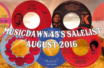 Musicdawn August 2016 45s Sale List