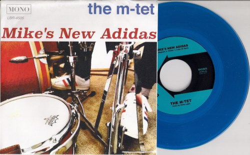 M-Tet - Mike's New Adidas, Lugnutbrand PS with Blue 45