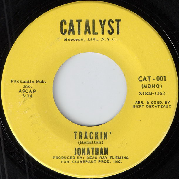 Jonathan - Trackin' (Instrumental) [Catalyst]