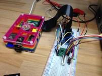 Raspberry Pi mit Breadboard & Elektronik