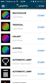 L8 SmartLight app