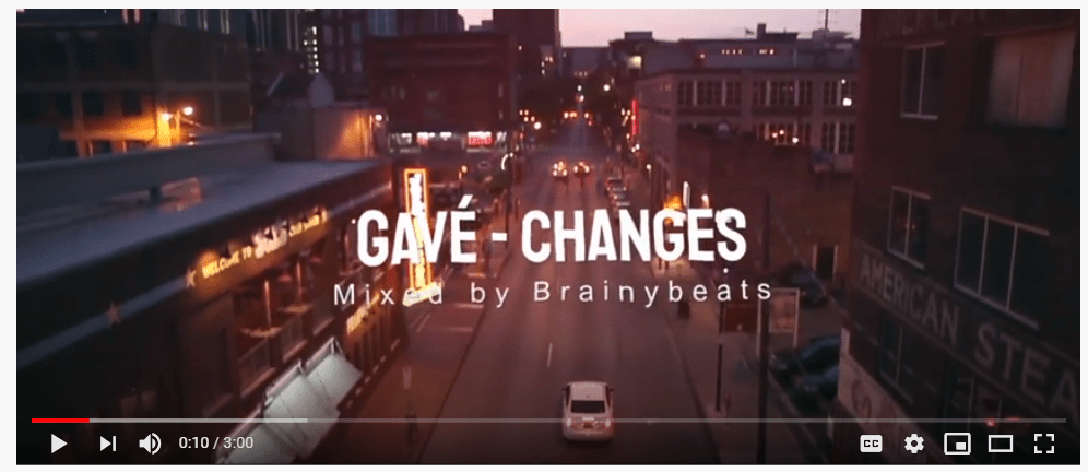 Video : Gavé Changes