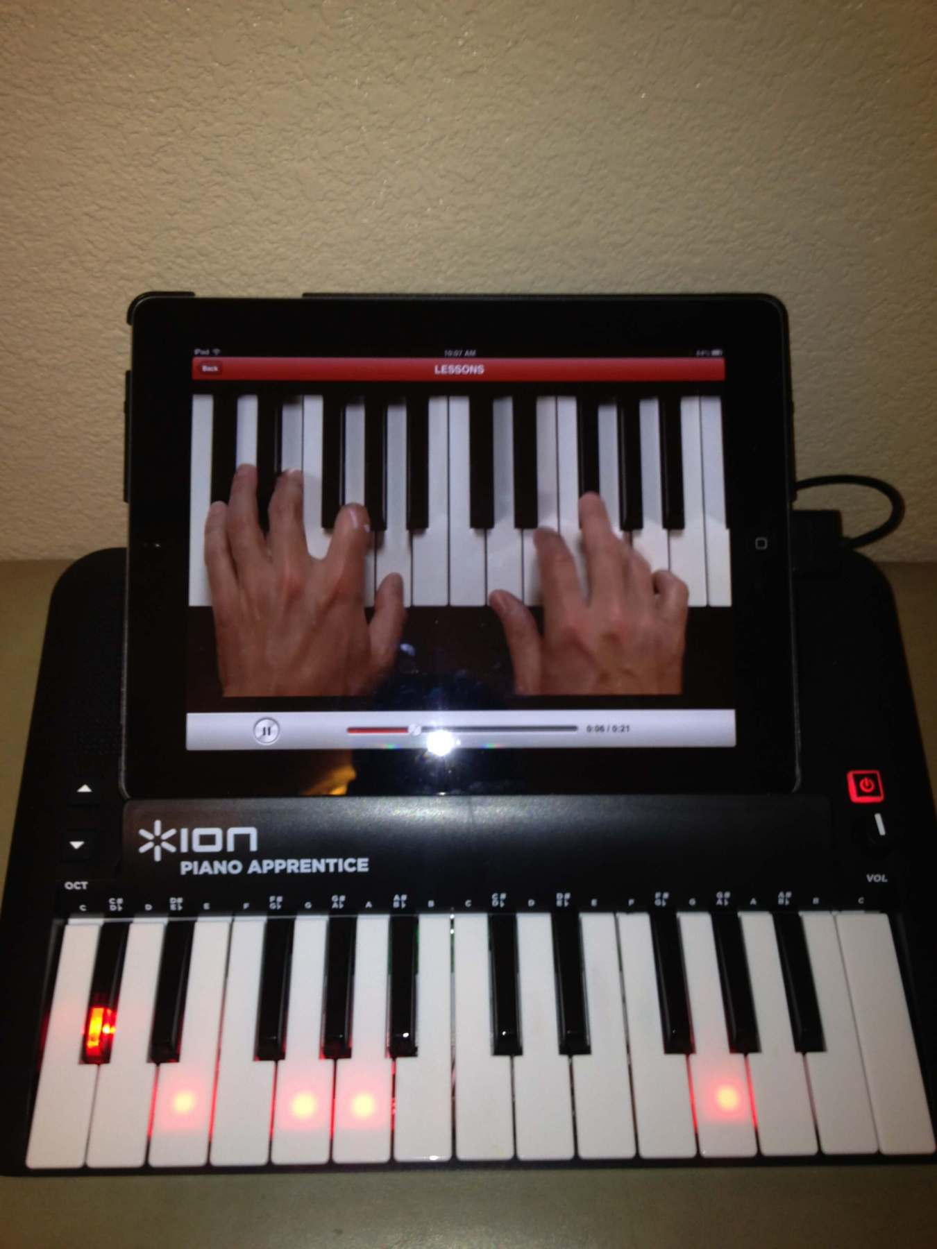 Tech Tuesday Piano Apprentice Keyboard And App Music Educator