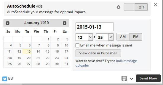 Scheduling Updates
