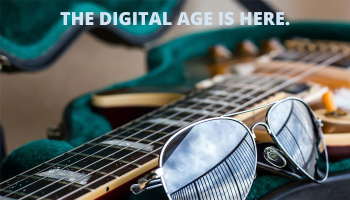 The Digital Age is here.