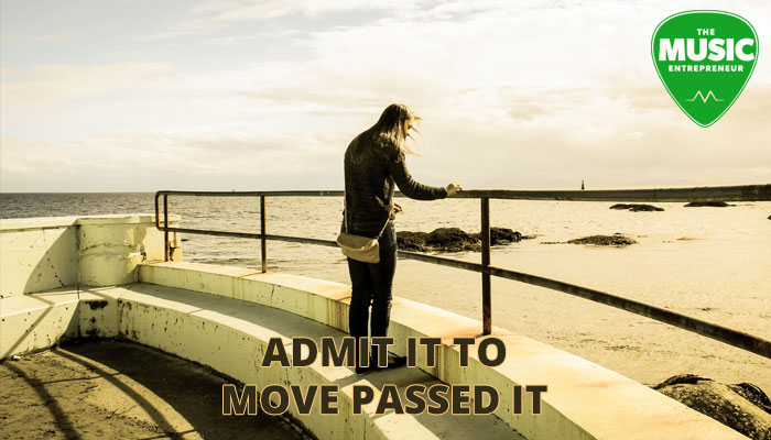 Admit It To Move Passed It