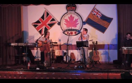 Goemon5 performing at the Royal Canadian Legion