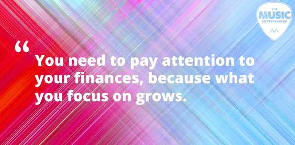 Paying attention to your finances