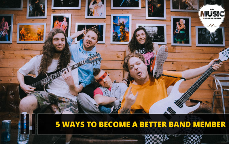 5 Ways to Become a Better Band Member