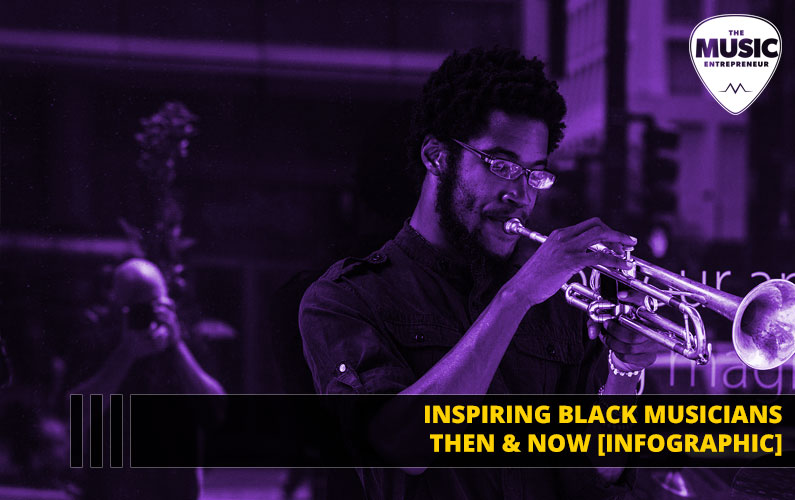Inspiring Black Musicians Then & Now [INFOGRAPHIC]