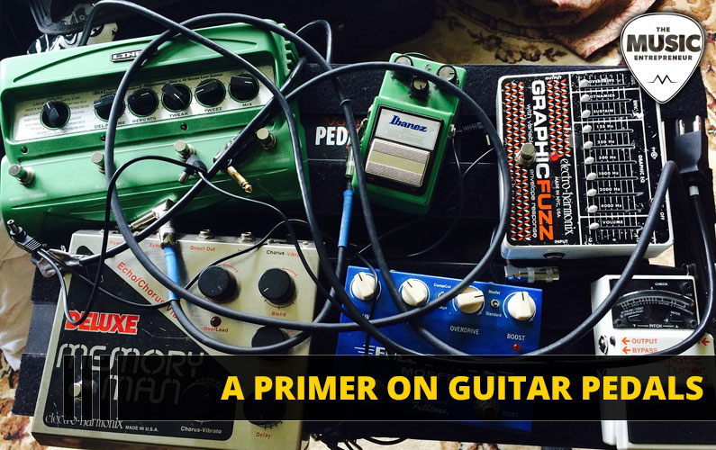 A Primer On Guitar Pedals [INFOGRAPHIC]