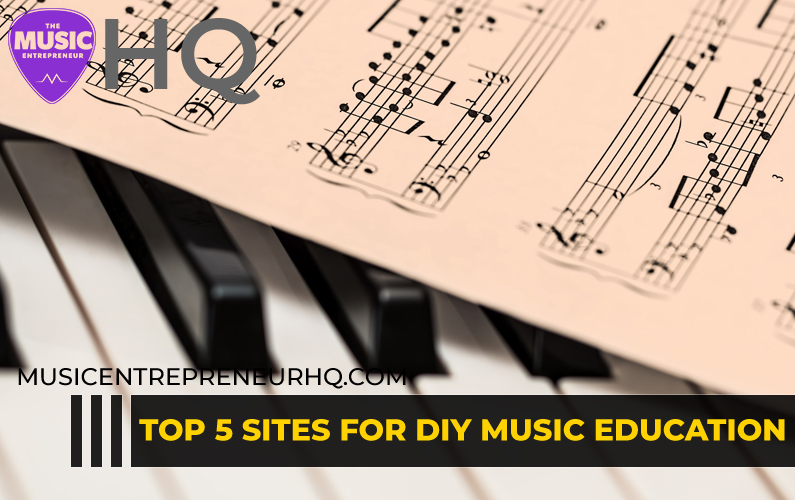Top 5 Sites for DIY Music Education