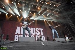 August Burns Red at Nova Rock 2016