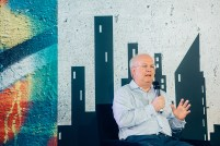 Karl Rove at OZY Fusion Festival 2016 by Coen Rees
