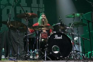Unearth at Aegon Arena in Bratislava