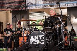 Anti-Flag || Warped Tour - Holmdel, NJ 07.15.17