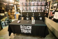 Moby signing at Rough Trade NYC